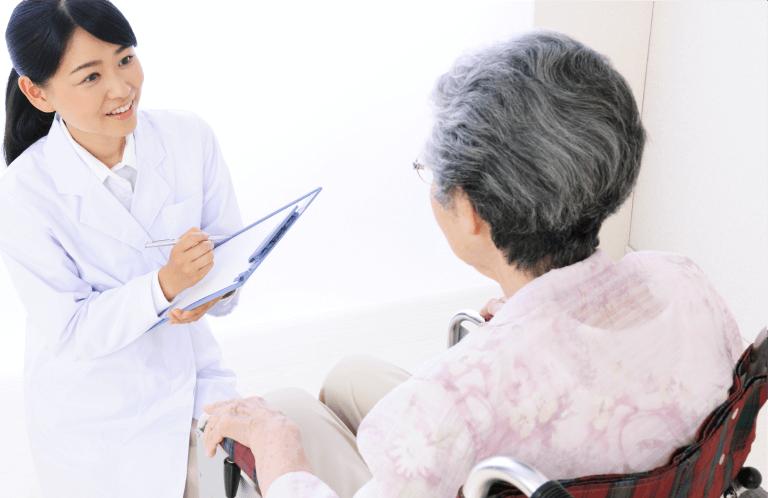 宅介護を受けられている患者様、そのご家族様を幅広くサポートいたします